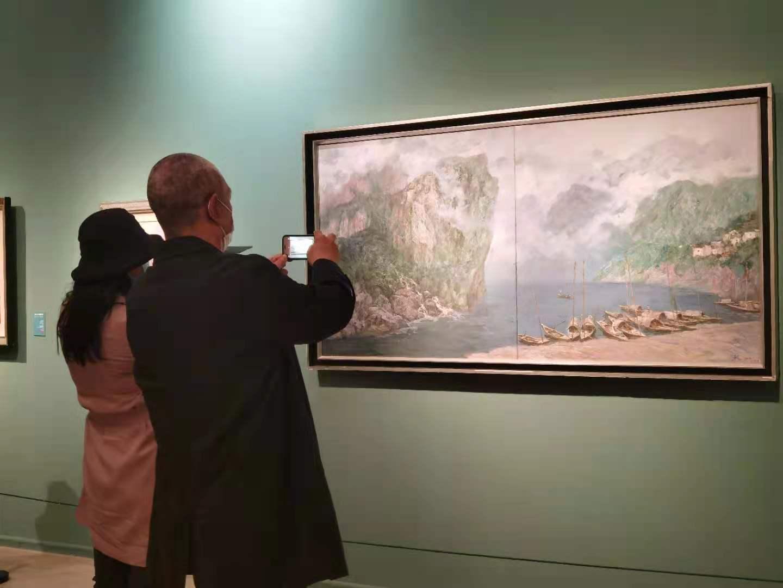 """天悦平台注册中国美术馆举办""""风华凝粹——鲍加艺术展"""""""
