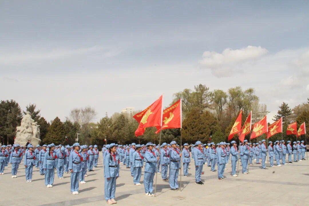 天悦平台登录中国工农红军西路军纪念馆迎来祭先烈、学党史高峰