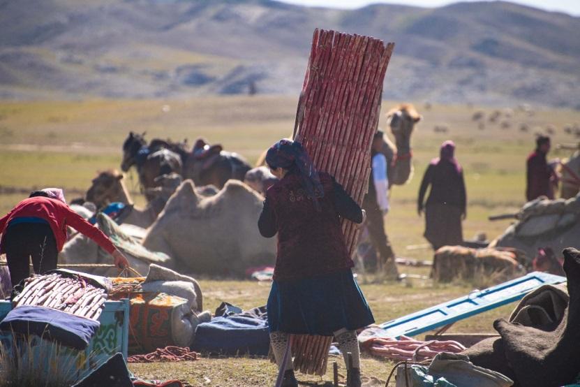 """新疆福海举办""""转场节""""传承游牧文化"""