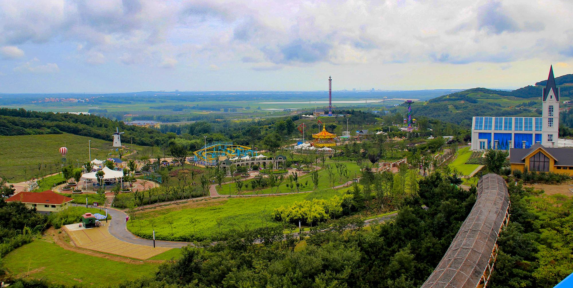 青岛的国家级新区--西海岸新区现已成为青岛旅游休闲度假的新板块.