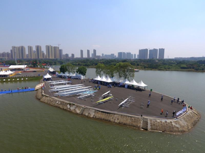 湖南益阳洞庭湖生态文化旅游暨水上运动节举办