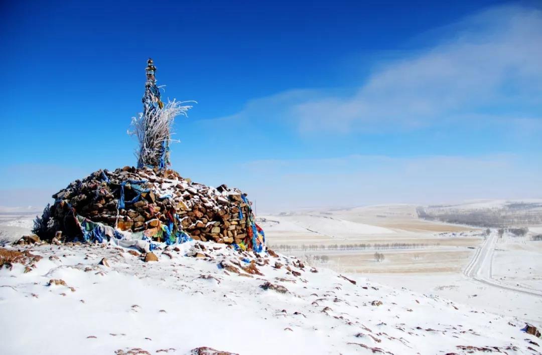 锡林郭勒的冬季冷么?冷!但是嗨起来就很温暖.