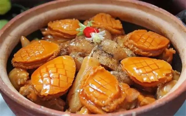 盐焗鲍鱼鸡